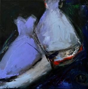 les robes - bleues