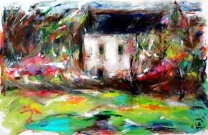 série maisons -printemps